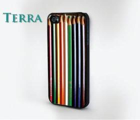 iphone 5 case - Pencil iPhone case - unique iphone cases- - - Case iPhone cover, iPhone hard case- iPhone 4, iPhone 4s