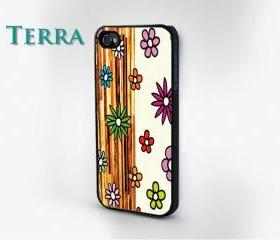 Floral - Abstract Pattern - iphone 5 cases Cool iPhone Cases- Cool iPhone Cases- - - Case- iPhone 4, iPhone 4s