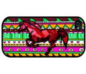 iPhone 4, - iPhone 4s - iphone 5 cases - COLORFUL HORSE DESIGN - Case iPhone cover, iPhone hard case
