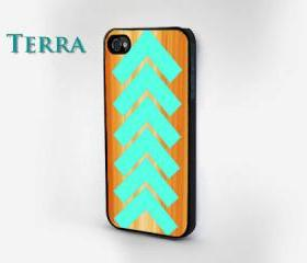 Geometric Wood Grain Print - iphone 5 cases iphone 5 - Cool iPhone Cases- Cool iPhone Cases - Geometric- iPhone 4 iPhone 4s - - Case