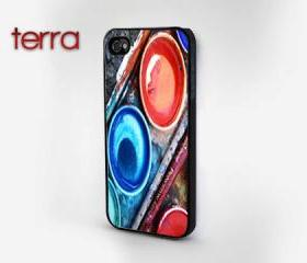 Watercolor Set iPhone 5 Case - iphone 5 cases Cool iPhone Cases- Cool iPhone Cases-- iPhone 4, iPhone 4s- Rubber Case