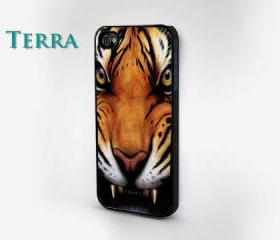 Tiger iPhone 5 Case - Cool iPhone Cases iPhone 4 iPhone 4s- Rubber Case