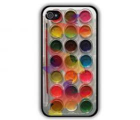 iphone 5, Watercolor paint set Painting Kit - iphone 5 cases Cool iPhone Cases- Cool iPhone Cases- iPhone 4, iPhone 4s- Rubber Case