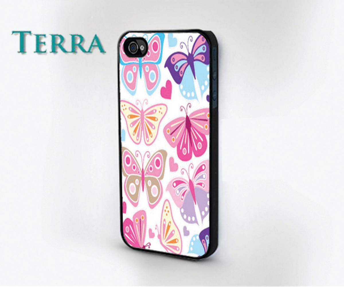 Colorful Butterflies - Iphone 5 Cases- -